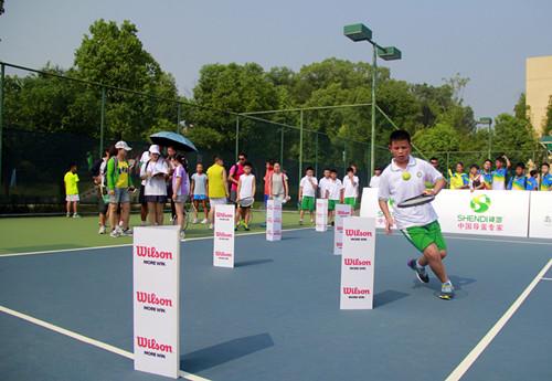 全国小学生趣味网球总决赛开赛
